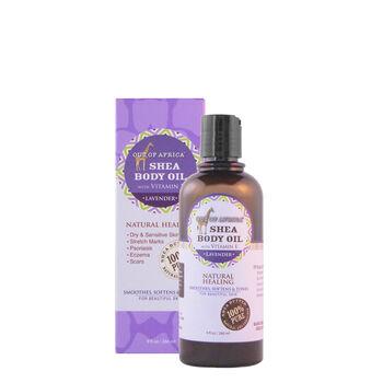 Shea Body Oil with Vitamin E - Lavender | GNC