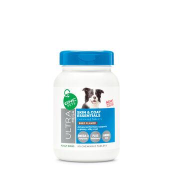 Skin & Coat Essentials - Beef Flavor   GNC