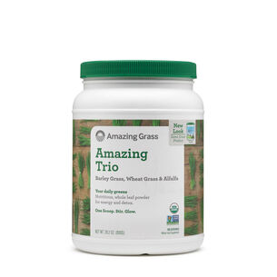 Amazing Trio - Barley Grass, Wheat Grass & Alfalfa | GNC