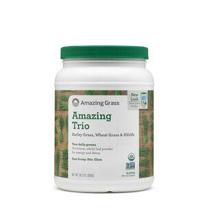 Amazing Trio - Barley Grass, Wheat Grass & Alfalfa | GNC