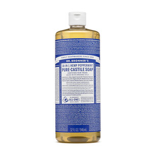 18-in-1 Hemp Peppermint Pure Castile Soap | GNC