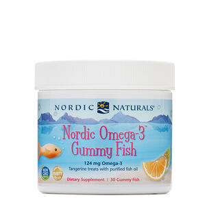Nordic Omega-3 Gummy Fish | GNC
