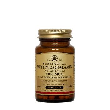 Sublingual Methylcobalamin (Vitamin B12) 1000 mcg | GNC