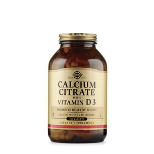 Calcium Citrate with Vitamin D3 | GNC