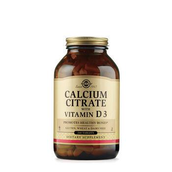 Calcium Citrate with Vitamin D3 | GNC
