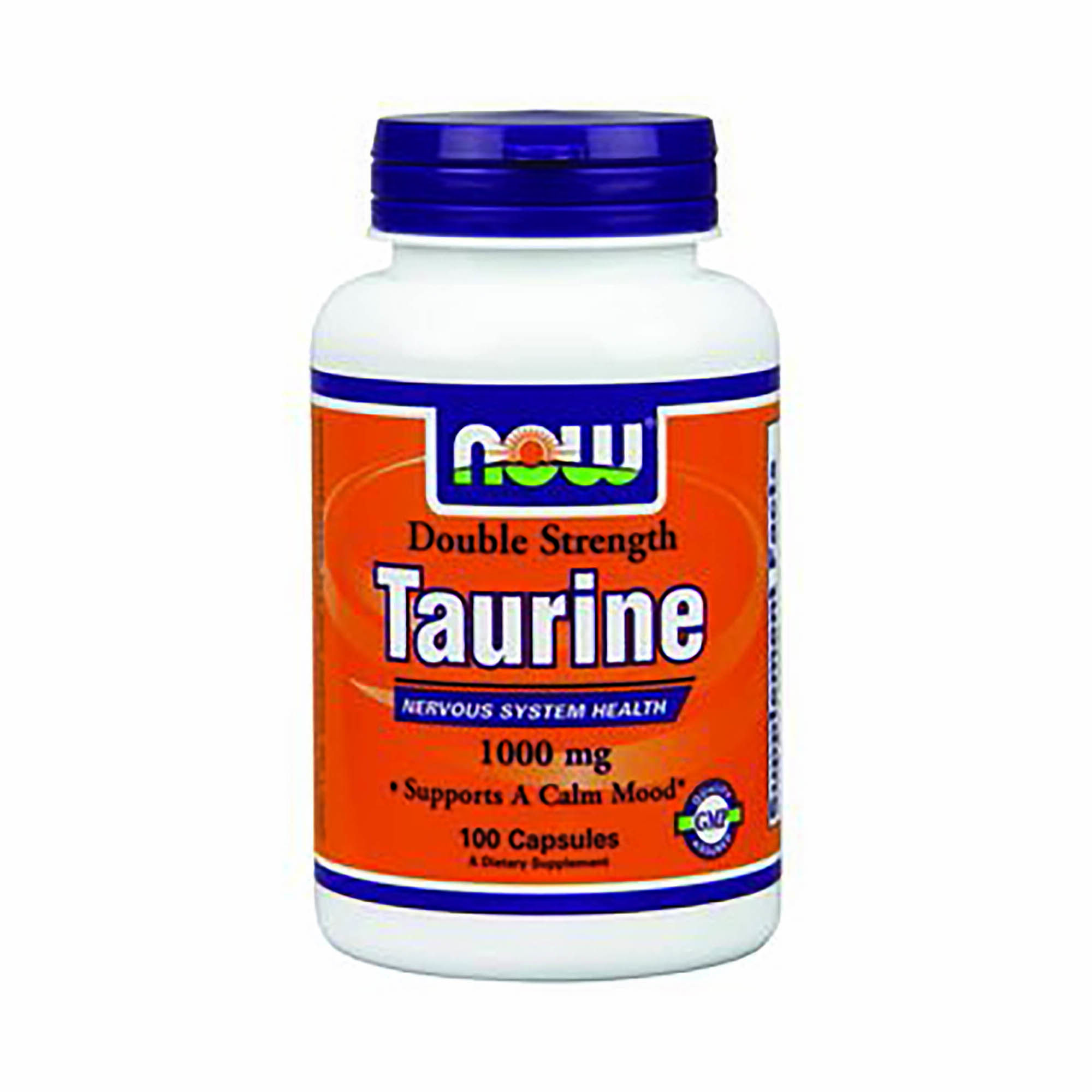 Taurine 1000 Mg - 100 Capsules - Now-� - Pre-workout Supplements
