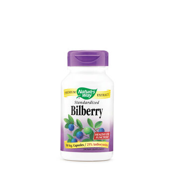 Bilberry Standardized | GNC