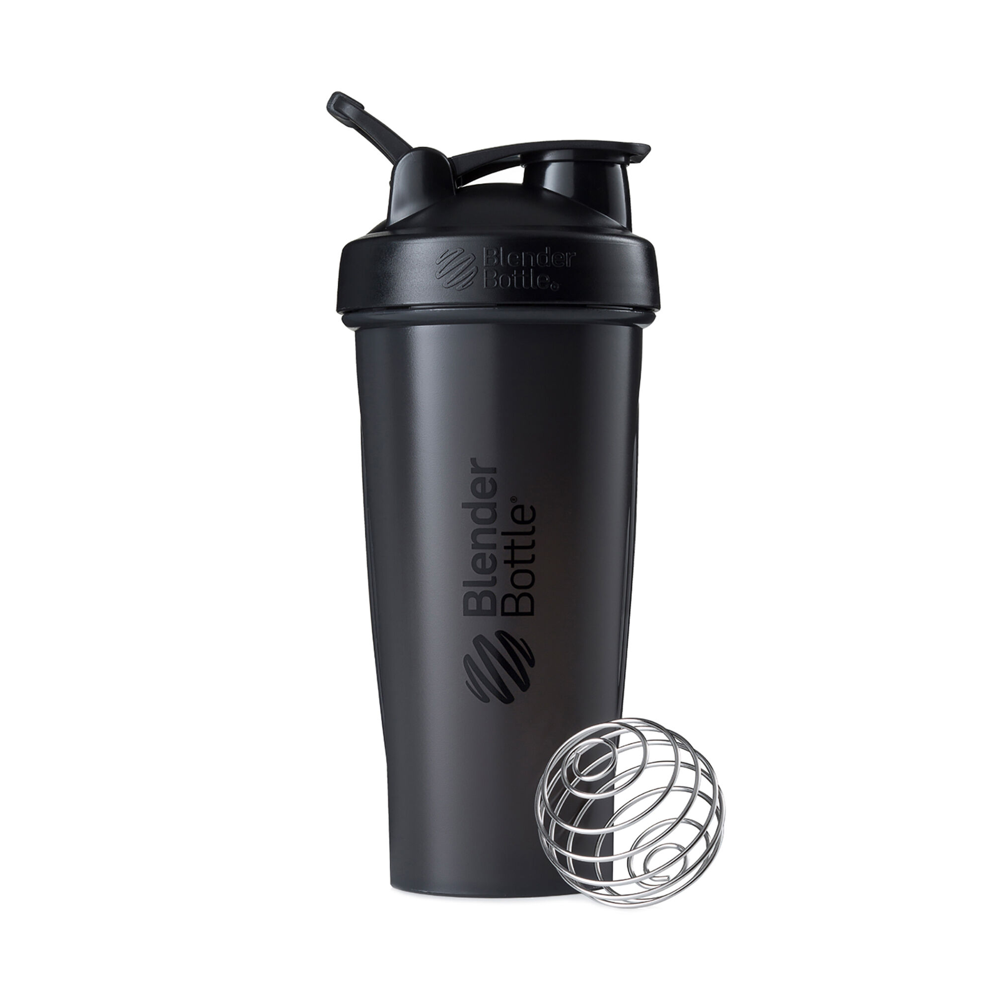 Blenderbottle28oz Classicg (w/ Loop) Black Mixers Shakers And Bottles