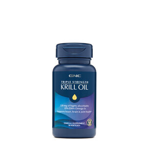 Triple Strength Krill Oil | GNC