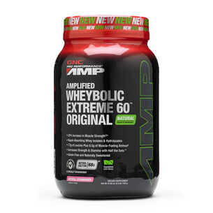 Amplified Wheybolic Extreme 60™ Original - Natural StrawberryNatural Strawberry | GNC
