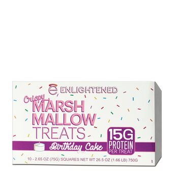 Crispy Marsh Mallow Treats - Birthday CakeBirthday Cake | GNC