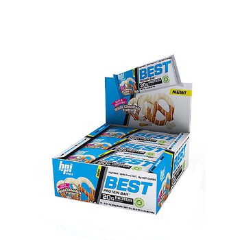 Best Protein Bar™ - White Chocolate PretzelWhite Chocolate Pretzel | GNC