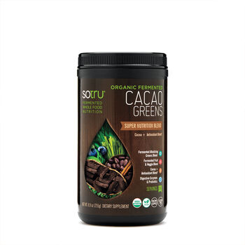 Organic Fermented Cacao Greens - Cocoa Antioxidant Blend   GNC