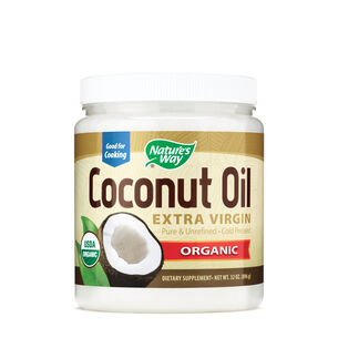 Extra Organic Virgin Coconut Oil | GNC