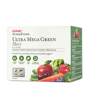 Ultra Mega® Green Men's Vitapak® Program | GNC
