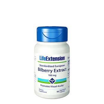 Standardized European Bilberry Extract 100 mg | GNC