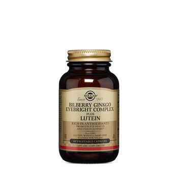Bilberry Ginkgo Eyebright Complex Plus Lutein | GNC