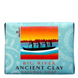 Big River Ancient Clay Earthy Soap   GNC