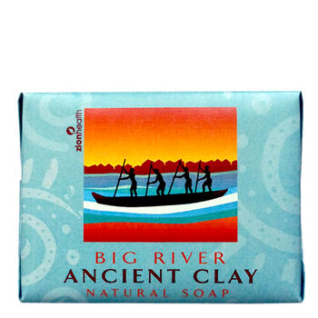 Big River Ancient Clay Earthy Soap | GNC
