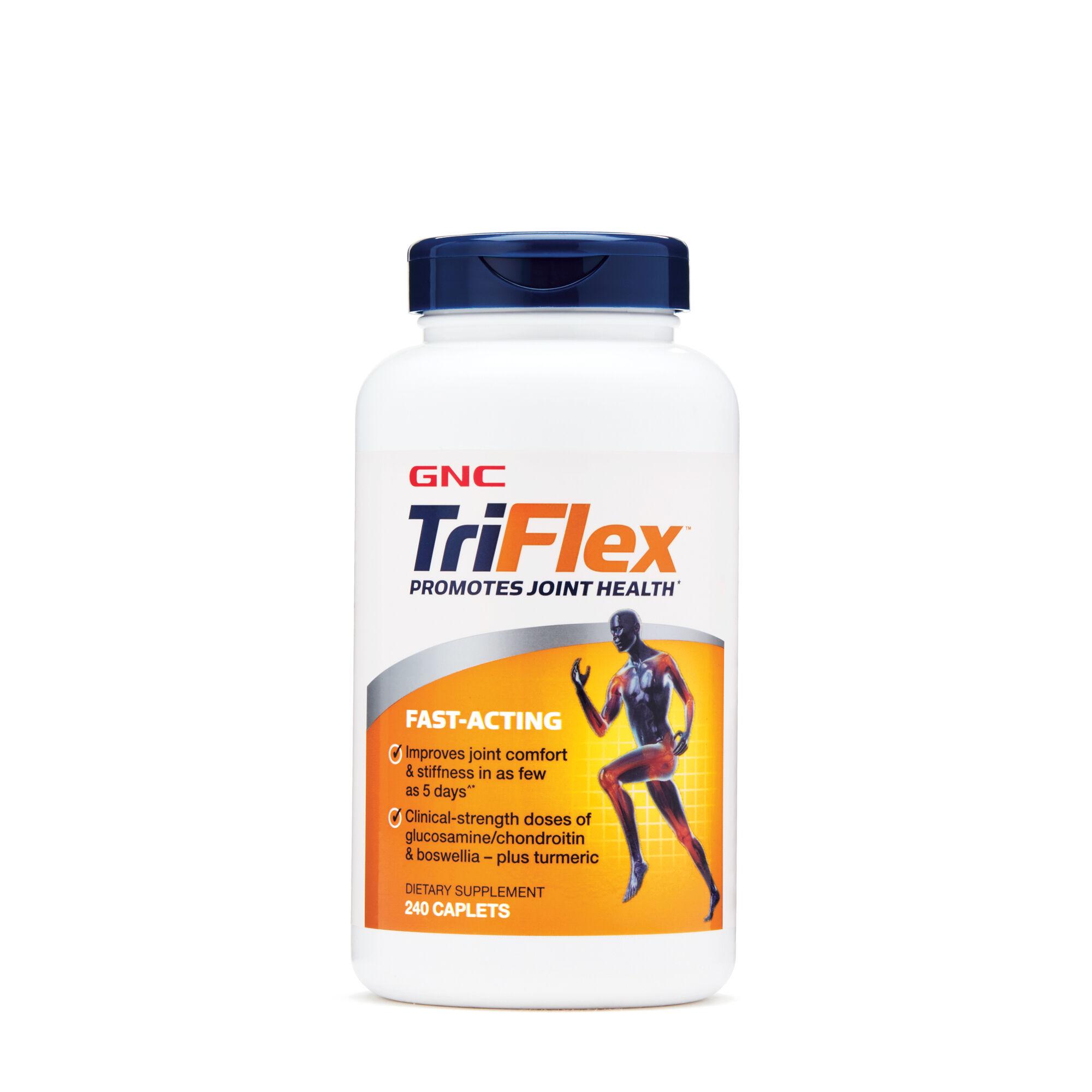 Triflex? Fast-Acting - 240 Caplets - GNC - Joint Support Formulas