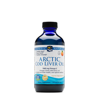 Arctic™ Cod Liver Oil- Orange | GNC