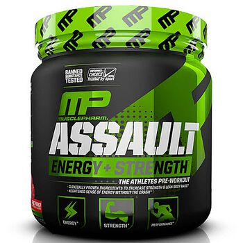 Assault - Blue RaspberryBlue Raspberry | GNC