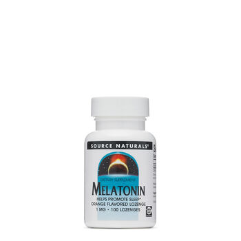 Melatonin 1 MG - Orange Flavored | GNC