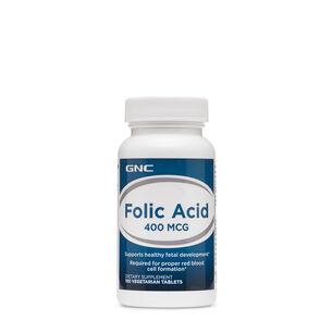 GNC 엽산 폴릭애씨드 Folic Acid 400 mcg