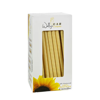 All-Natural 100% Beeswax Multi-Purpose Hollow Candles | GNC