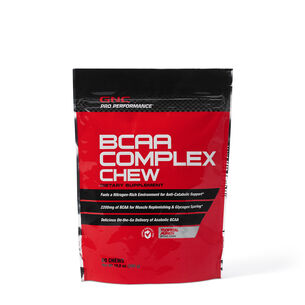 BCAA Complex Chew – Tropical Punch | GNC