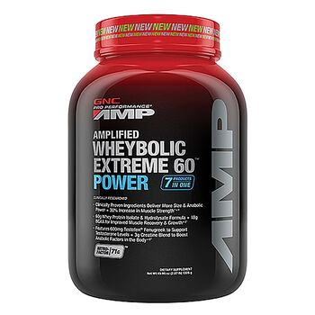 Amplified Wheybolic Extreme 60™ Power - French Vanilla (California Only) | GNC