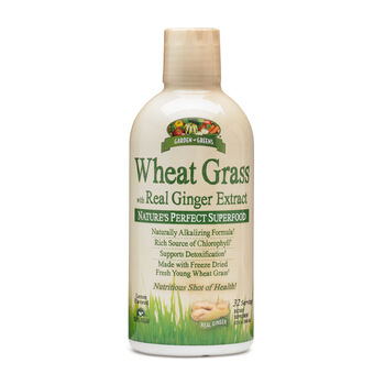 Wheat Grass with Real Ginger Extract | GNC