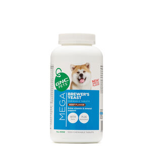 Mega Brewer's Yeast - All Dogs - Beef Flavor | GNC