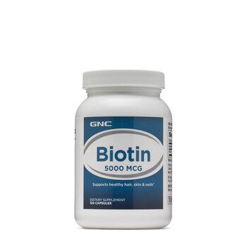 Biotin 5000 MCG | GNC