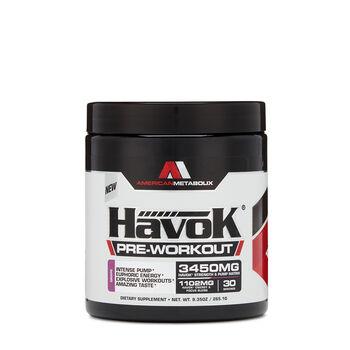 HavoK® Pre-Workout - GrapeGrape | GNC