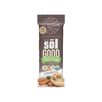 Organic Sōl Good Protein Bar - Cinnamon Roll | GNC