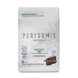 IRIDIUM™ NATIVE ISO WHEYi+ - Chocolate CakeChocolate Cake | GNC