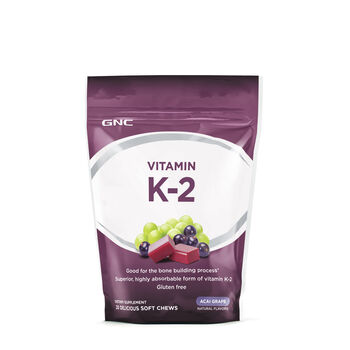 Vitamin K-2 - Acai Grape | GNC