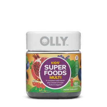 Kids' Super Foods Multi - Go Go Grape | GNC