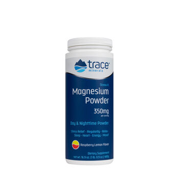 Stress-X Magnesium Powder - Raspberry LemonRaspberry Lemon | GNC