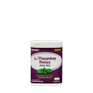 L-Theanine Relax - Refreshing Mint | GNC