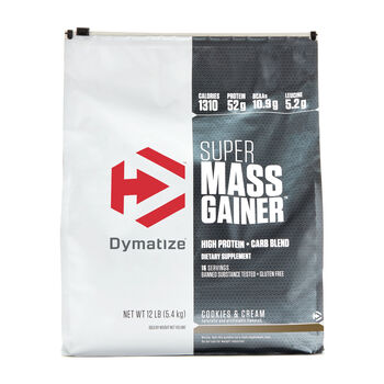 Super Mass Gainer - Cookies and CreamCookies and Cream   GNC