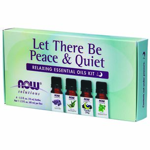 Let There Be Peace and Quiet Relaxing Essential Oils Kit | GNC