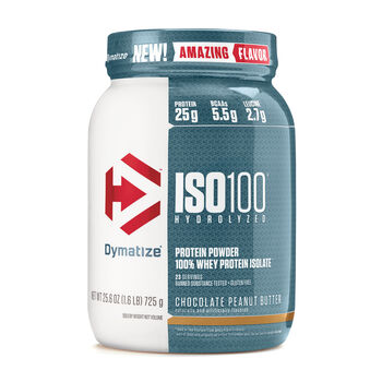 ISO 100® - Chocolate Peanut ButterChocolate Peanut Butter | GNC