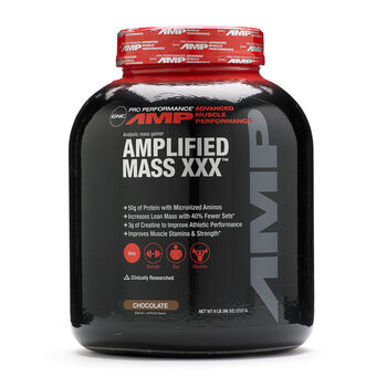 Amplified Mass XXX™ - ChocolateChocolate | GNC