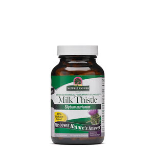 GNC 밀크시슬 Nature's Answer Milk Thistle