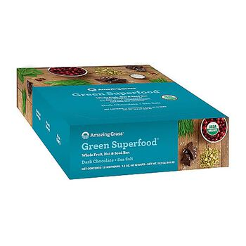 Green Superfood - Dark Chocolate + Sea SaltDark Chocolate + Sea Salt | GNC