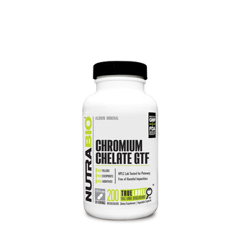 Chromium Chelate GTF | GNC
