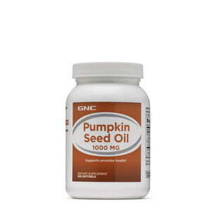 GNC Pumpkin Seed Oil 1000 MG