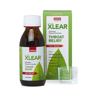 Xlear® Throat Relief - Immune Formula | GNC